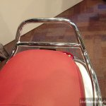 Vespa Elegante chrome grab rail