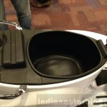 Vespa Elegante showcase underseat storage