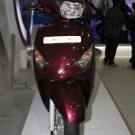 Yamaha Cygnus Alpha front at the 2014 Nepal Auto Show