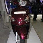 Yamaha Cygnus Alpha front at the 2014 Nepal Auto Show