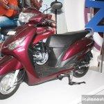 Yamaha Cygnus Alpha front three quarter at the 2014 Nepal Auto Show