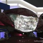 Yamaha Cygnus Alpha headlamp at the 2014 Nepal Auto Show