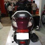 Yamaha Cygnus Alpha rear at the 2014 Nepal Auto Show.