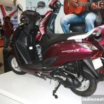 Yamaha Cygnus Alpha rear three quarter at the 2014 Nepal Auto Show