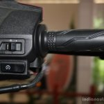 Yamaha Cygnus Alpha switch gear right at the 2014 Nepal Auto Show