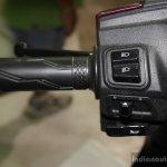 Yamaha Cygnus Alpha switchgear left at the 2014 Nepal Auto Show