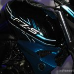 Yamaha FZ-S FI V2.0 fuel tank at the 2014 NADA Auto Show Nepal