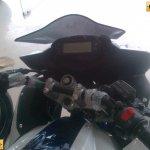 Yamaha Fazer FI V2.0 spied instrument console