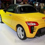 Yellow Daihatsu Copen at the Indonesia International Motor Show 2014