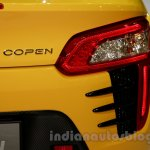 Yellow Daihatsu Copen taillamp at the Indonesia International Motor Show 2014