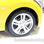 Yellow Daihatsu Copen wheel at the Indonesia International Motor Show 2014