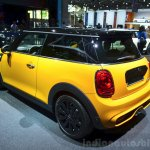 2014 Mini Cooper rear three quarters at the 2014 Paris Motor Show