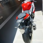 2015 BMW S 1000 RR rear view at the INTERMOT 2014