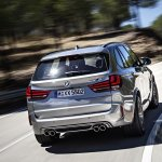 2015 BMW X5 M rear quarter