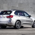 2015 BMW X5 M rear quarters