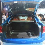 2015 BMW X6 M boot open at the 2014 Los Angeles Auto Show