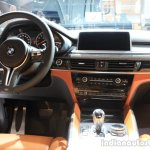 2015 BMW X6 M dashboard driver side at the 2014 Los Angeles Auto Show