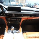 2015 BMW X6 M dashboard passenger side at the 2014 Los Angeles Auto Show