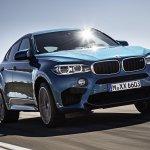 2015 BMW X6 M front quarter