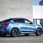 2015 BMW X6 M rear quarter