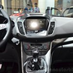 2015 Ford C-Max facelift center console at the 2014 Paris Motor Show