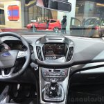 2015 Ford C-Max facelift dashboard at the 2014 Paris Motor Show