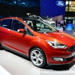 2015 Ford C-Max facelift front three quarters at the 2014 Paris Motor Show