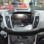 2015 Ford C-Max facelift infotainment screen at the 2014 Paris Motor Show