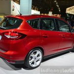 2015 Ford C-Max facelift rear three quarters at the 2014 Paris Motor Show