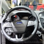 2015 Ford C-Max facelift steering wheel at the 2014 Paris Motor Show