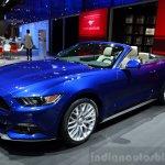 2015 Ford Mustang convertible at the 2014 Paris Motor Show