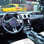 2015 Ford Mustang convertible dashboard at the 2014 Paris Motor Show