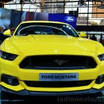 2015 Ford Mustang front at the 2014 Paris Motor Show