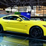 2015 Ford Mustang front three quarter view at the 2014 Paris Motor Show