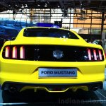 2015 Ford Mustang rear at the 2014 Paris Motor Show