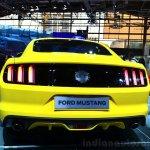 2015 Ford Mustang rear at the 2014 Paris Motor Show