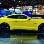 2015 Ford Mustang side at the 2014 Paris Motor Show