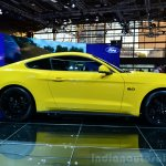 2015 Ford Mustang side profile at the 2014 Paris Motor Show
