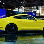 2015 Ford Mustang side profile view at the 2014 Paris Motor Show