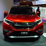 2015 Honda CR-V front at the Paris Motor Show 2014