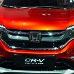 2015 Honda CR-V grille at the Paris Motor Show 2014