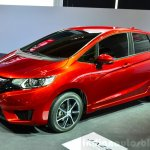 2015 Honda Jazz prototype for Europe at 2014 Paris Motor Show