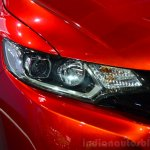 2015 Honda Jazz prototype for Europe headlamp at 2014 Paris Motor Show