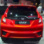2015 Honda Jazz prototype for Europe rear at 2014 Paris Motor Show