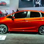 2015 Honda Jazz prototype for Europe side at 2014 Paris Motor Show