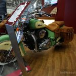 2015 Indian Chief Vintage front three quarters at the INTERMOT 2014