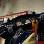 2015 Indian Chieftain dashboard at INTERMOT 2014