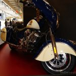 2015 Indian Chieftain front three quarters at INTERMOT 2014