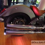 2015 Indian Scout in India silencer