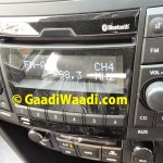 2015 Maruti Swift facelift ZDi Bluetooth system
